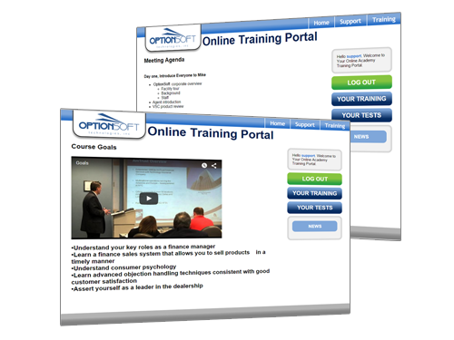 Dealer Management Training Portal